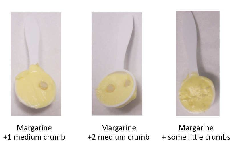 Testing for cross contact in margarine