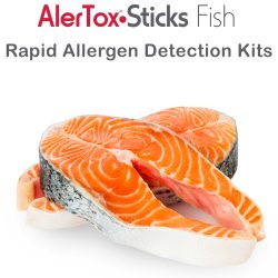 Alertox Sticks Fish; reliable detection of antigens