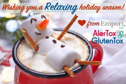 Happy holiday from Emport, GlutenTox and AlerTox!