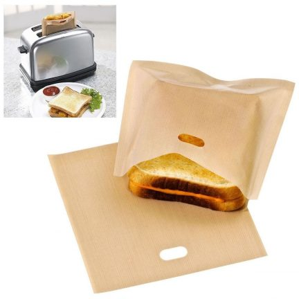 Reusable and affordable toaster bags.