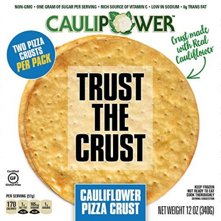 Caulipower is the latest trend in healthy pizza crusts.