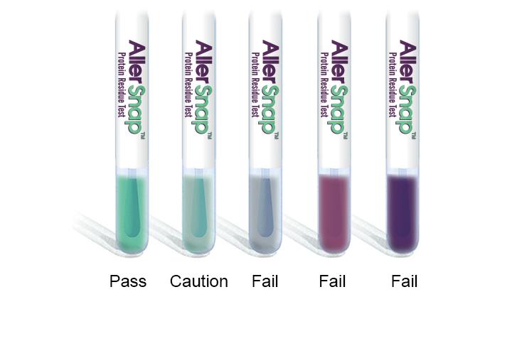 AllerSnap™ colorimetric ATP test
